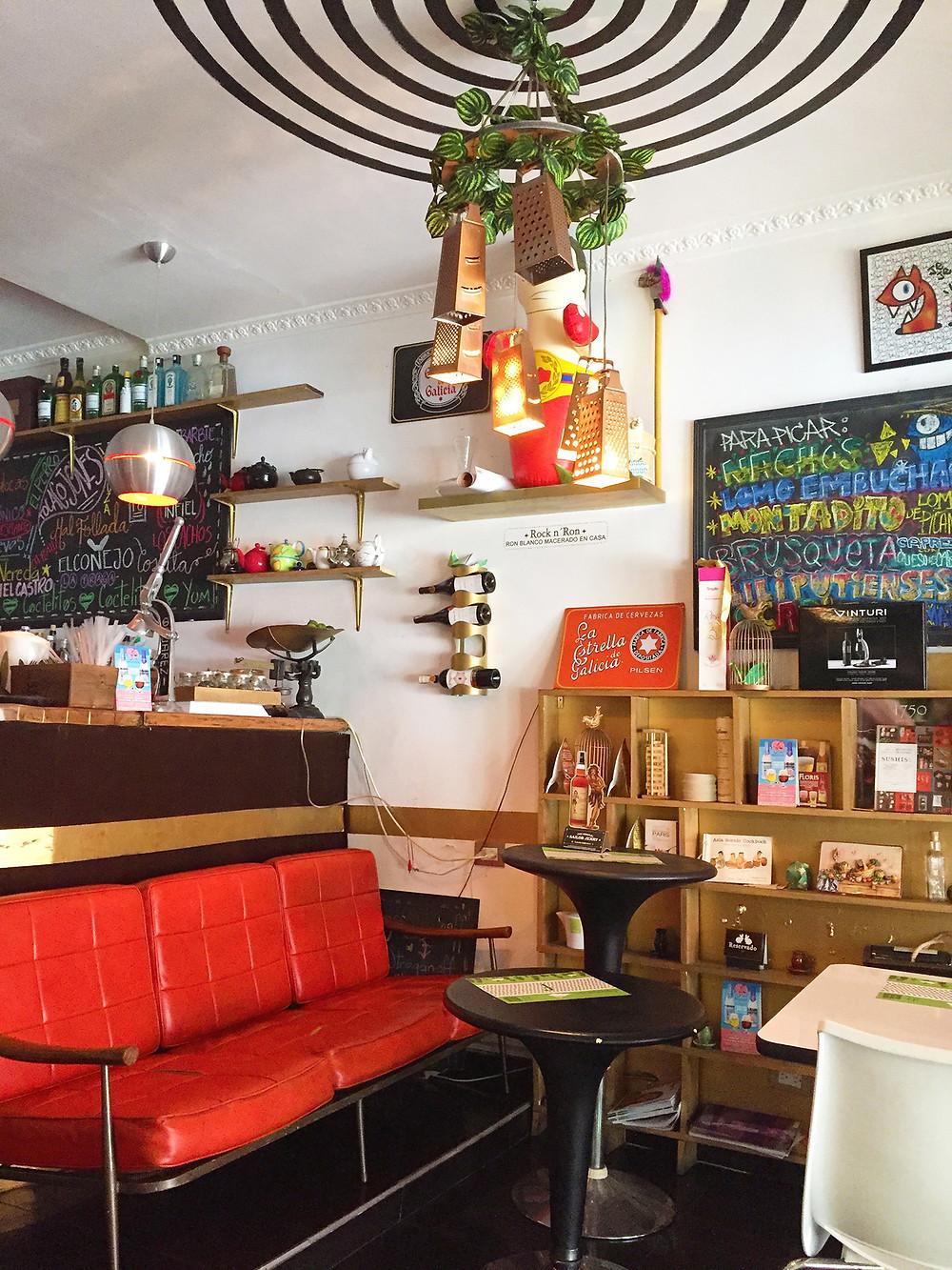 Fusionario restaurante en Chapinero