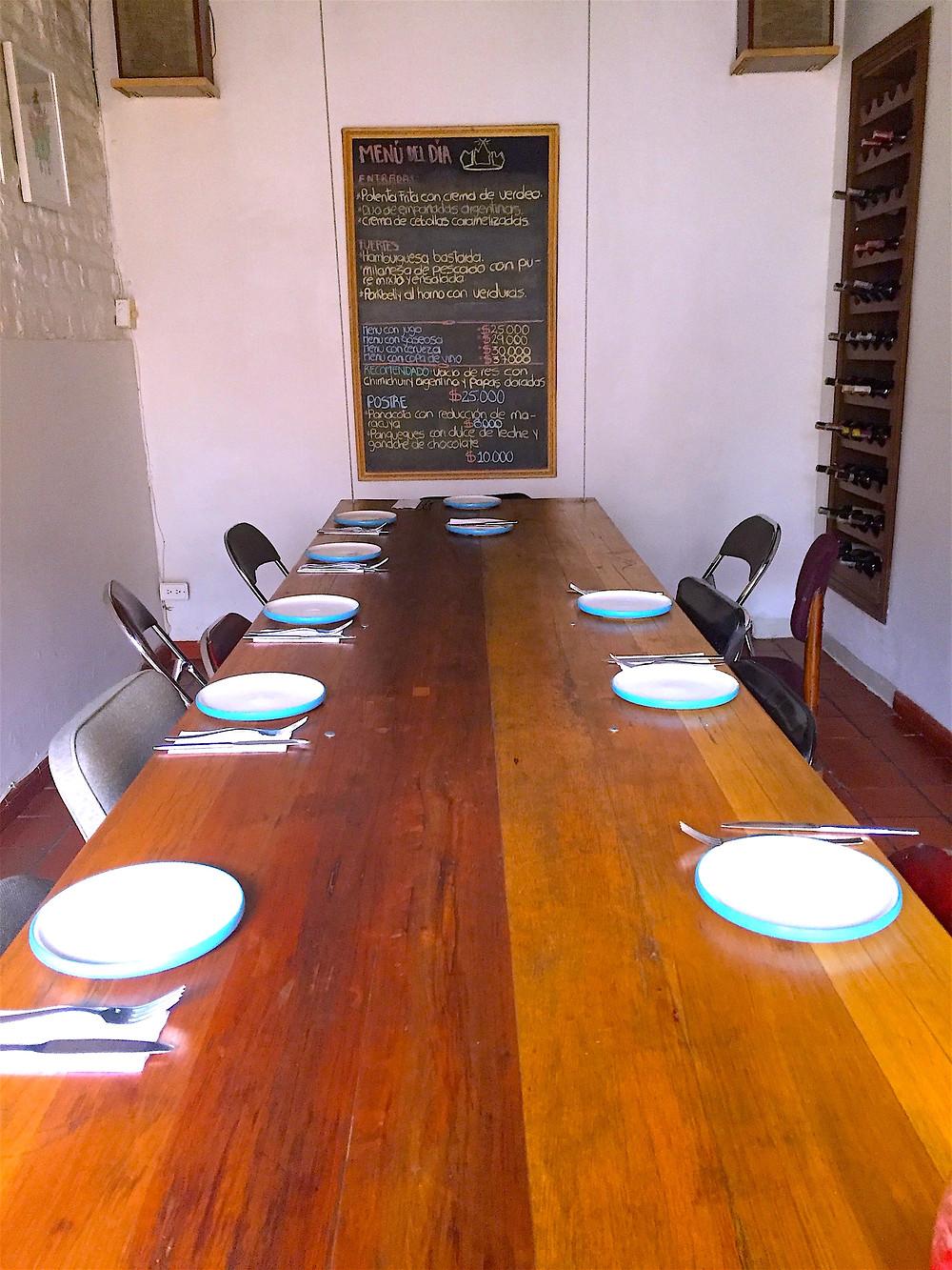 Buenos almuerzos en Quinta Camacho