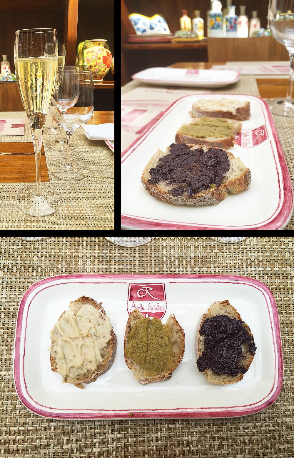 Vinos y comida italiana en Usaquén