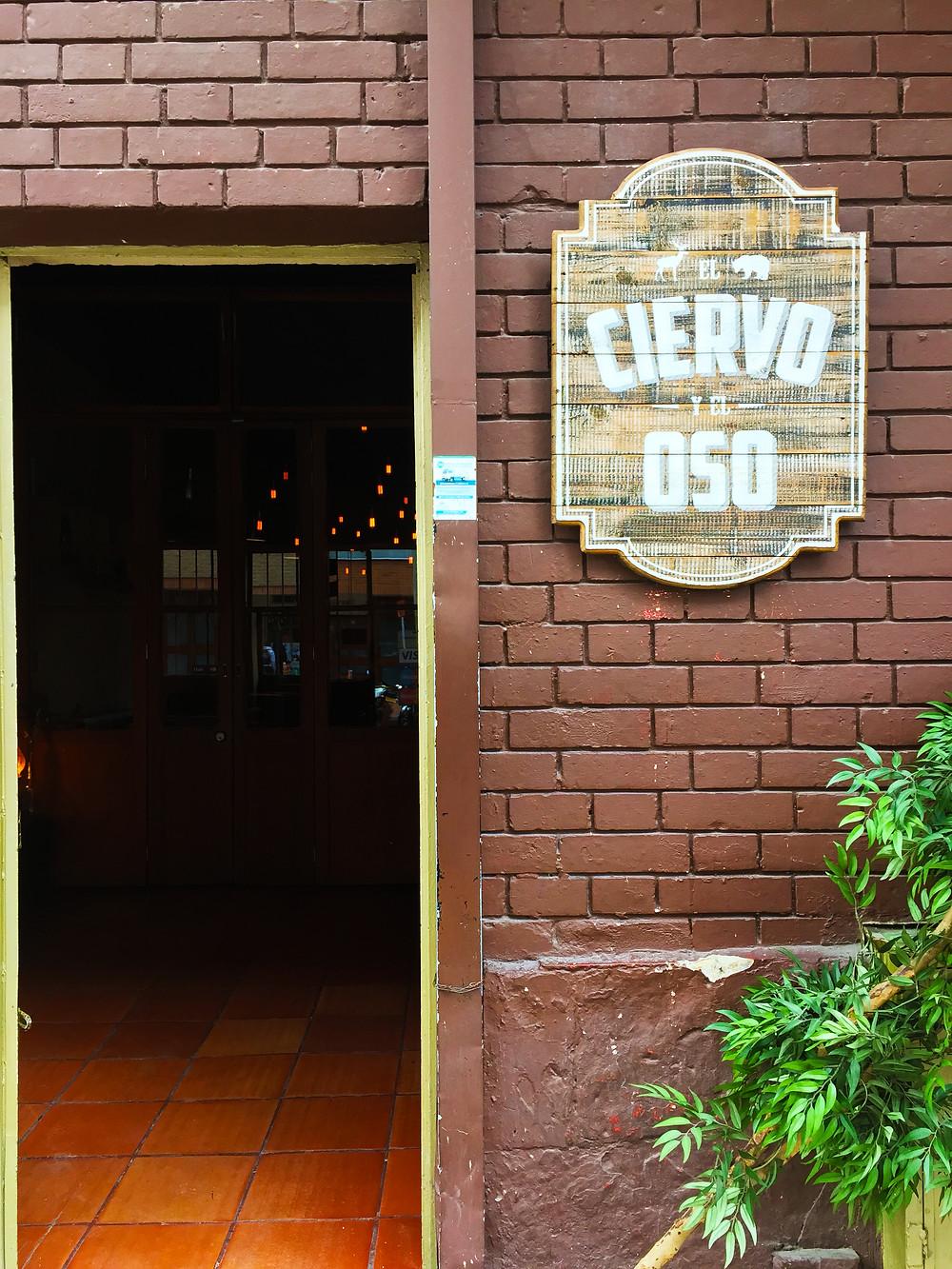 El Ciervo y el Oso restaurante Bogotá