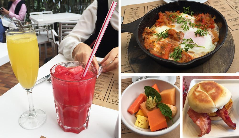 Brunch en Bogotá: menú de Masa