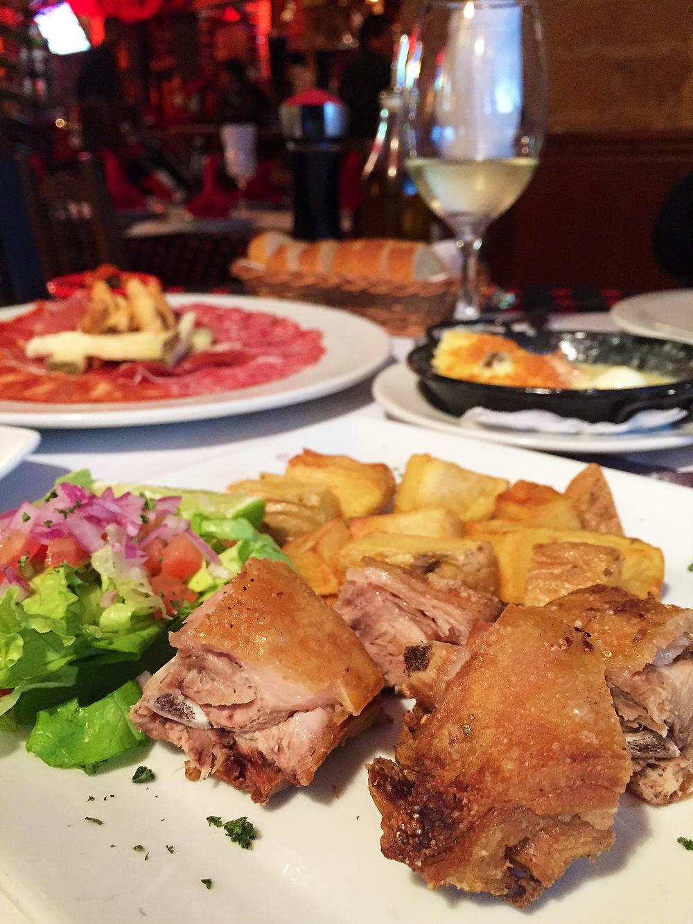 Tapas y platos españoles en Bogotá