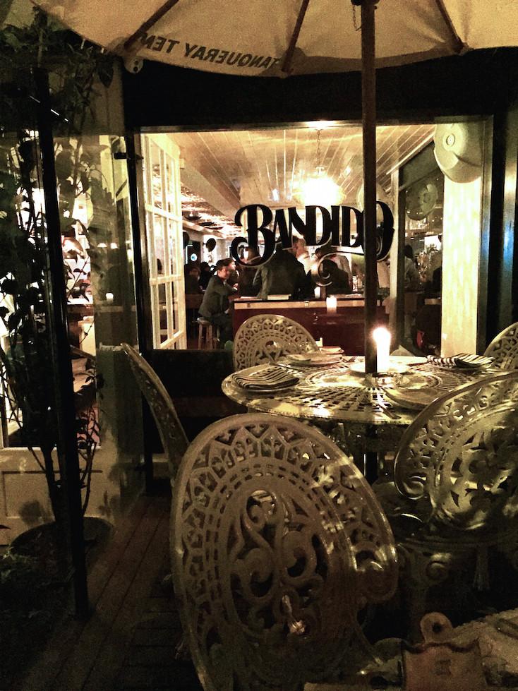 El Bandido restaurante Bogotá
