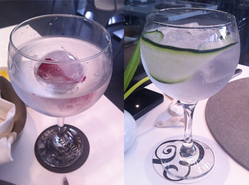 Gin tonics en Bogotá