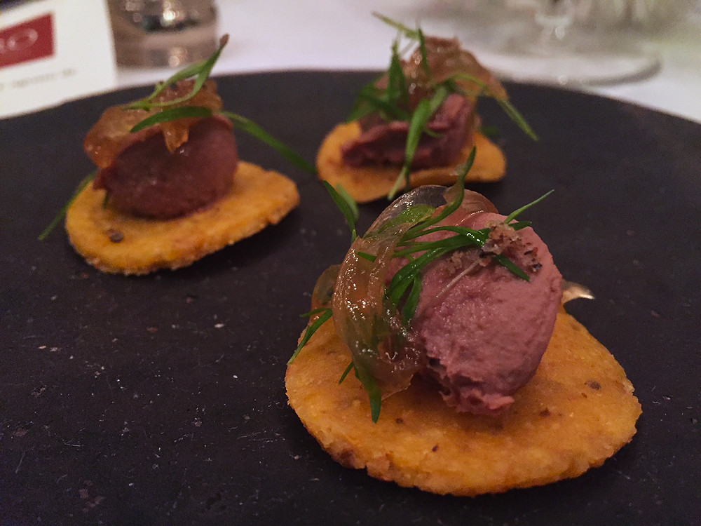 Menú de pasos en Castro Cocina: Arepas