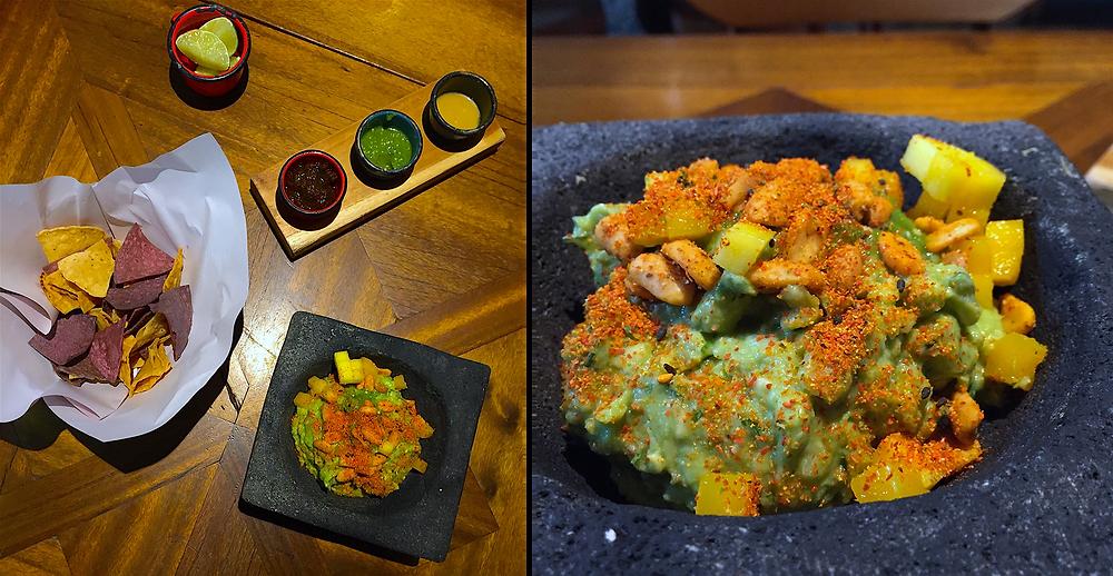 Nachos morados, salsas y aguacate: comida mexicana en Cantina y Punto, Bogotá