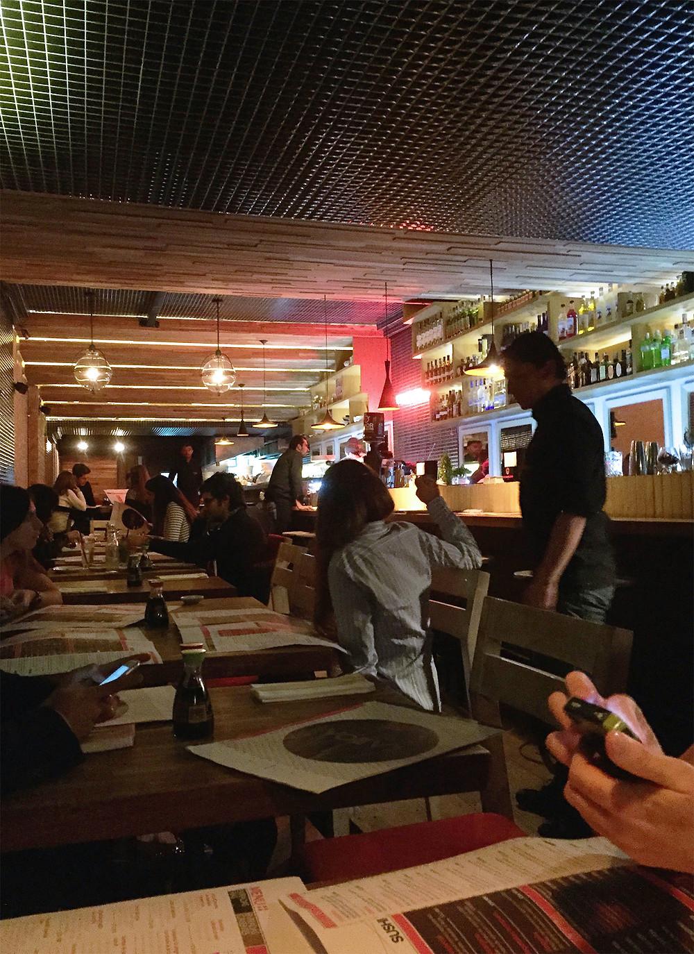 Canoa restaurante en Bogotá