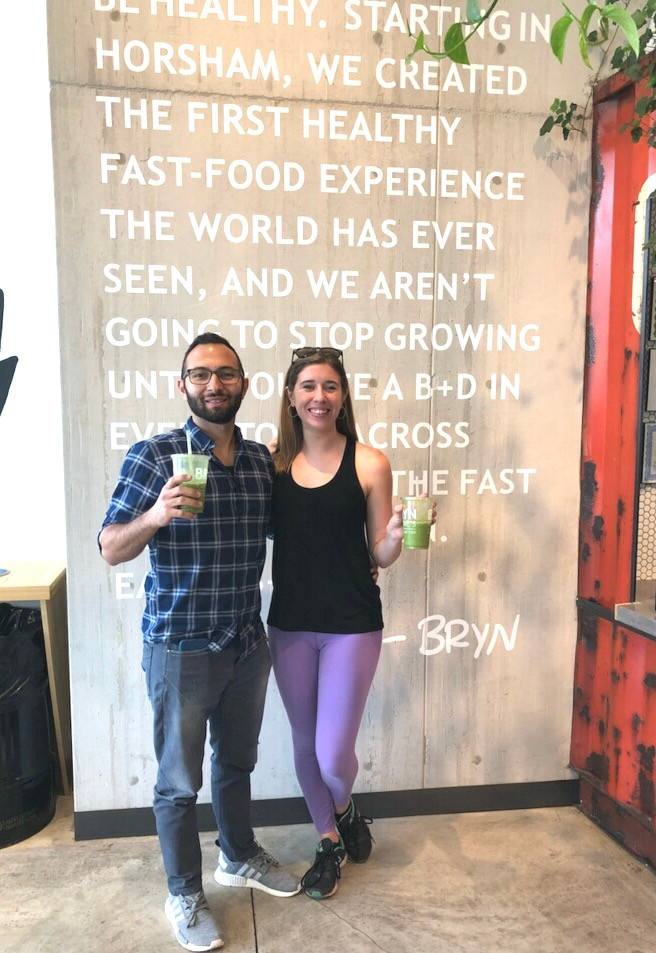 Sembat and Alyssa at Bryn and Dane's