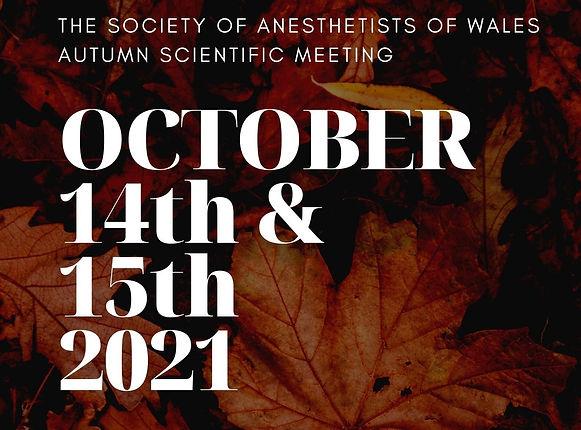 Autumn Scientific Meeting poster pic SMA
