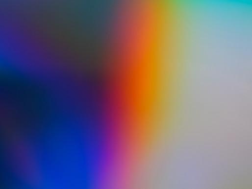 Meditação guiada com cores
