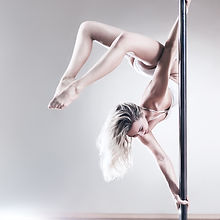 Upside Down Pole Dancer