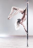 Gedreht Pole Dancer
