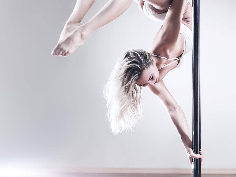 Strength and Flexibility Pole dance classes Star Pole Studio Byron Bay