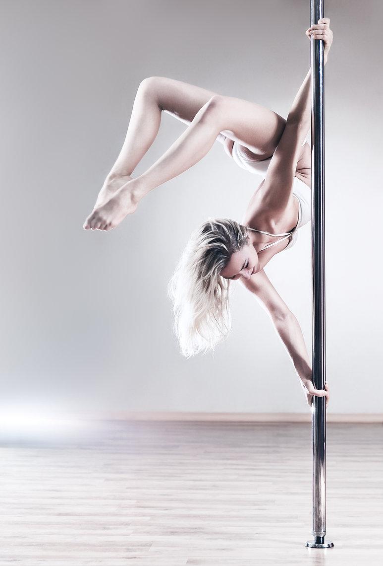 Upside Down Pole Dancer