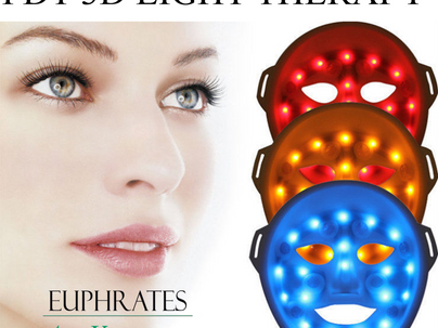 FREE AgeVantage PDT light facial therapy