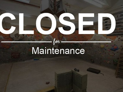 THURSDAY TO MONDAY CLOSED FOR MAINTENANCE