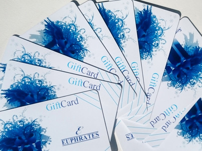 Get your loved ones the Euphrates GiftCards
