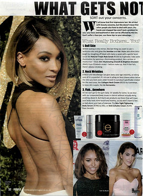Euphrates Cosmetics on People Magazine March Issue