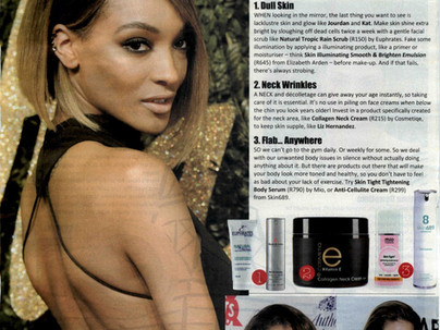 Sort out your skin concerns- People Magazine Feb issue features Euphrates