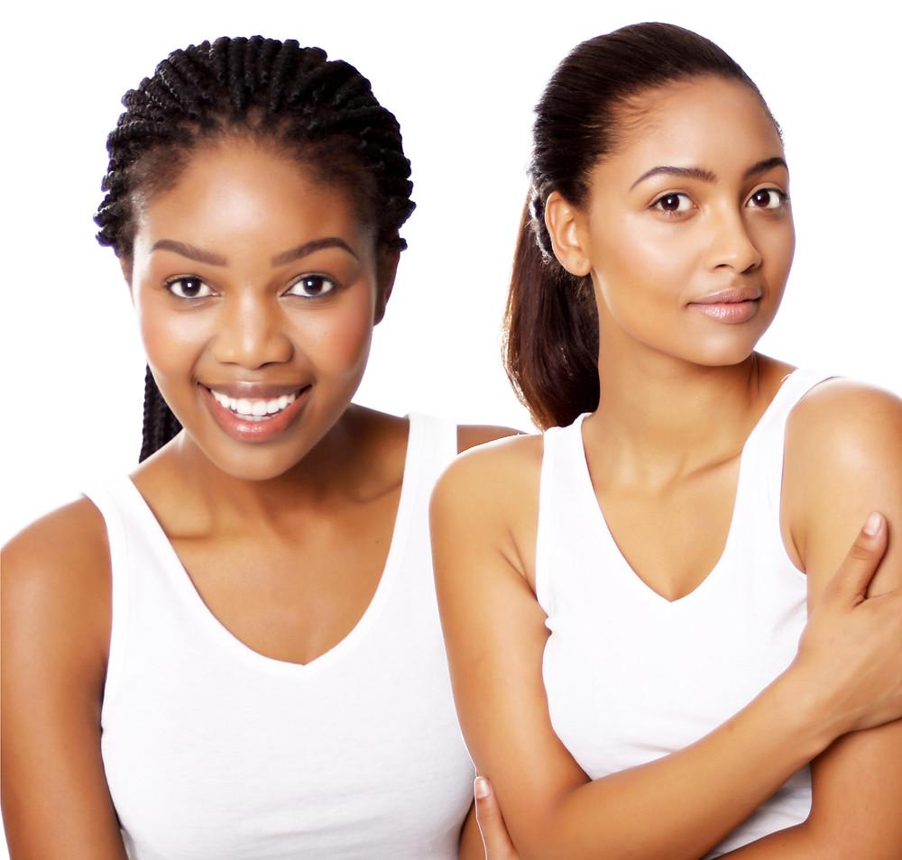 Euphrates Cosmetics. Euphrates natural skincare. Brand Ambassadors. Aurelia Nxumalo. Jo-anne Reyneke