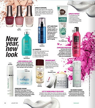 Euphrates Cosmetics Radiant Day Cream on Jan 2016 Khuluma Magazine