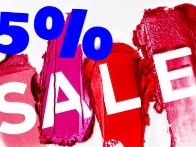 Summer 15% Discount Flash Sale