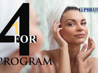 Celebratory Free Facial - for matric dance and graduating students.