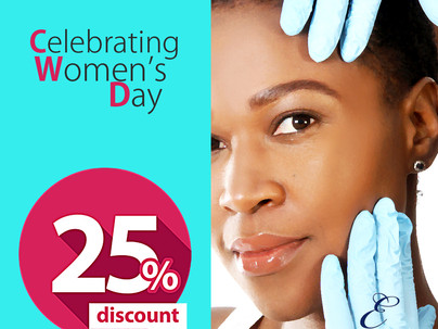 Celebrating Women's Day - Get 25% Discount for two (2) Days.