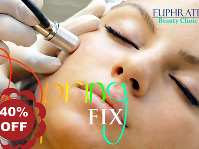 Spring FIX up to 50% discount on Ultrasonic Skin Scrubber Facial and Deluxe Microdermabrasion treatm
