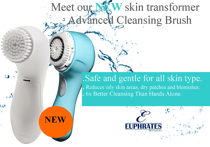 Euphrates Cosmetics - Advanced Cleansing Brush