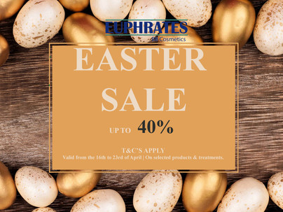 EASTER SALE UP TO 40% OFF.