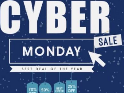 Cyber Monday Sale - up to 70% discount on products and equipments