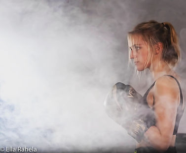 "Tori in ""The Knockout"" (Dark Light Films)"
