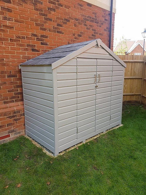 Garden Tool/Cushion Store with slate roof