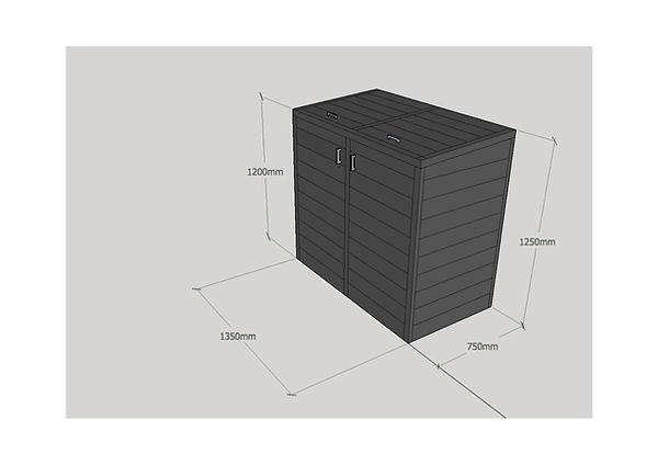 3D Bin Store view