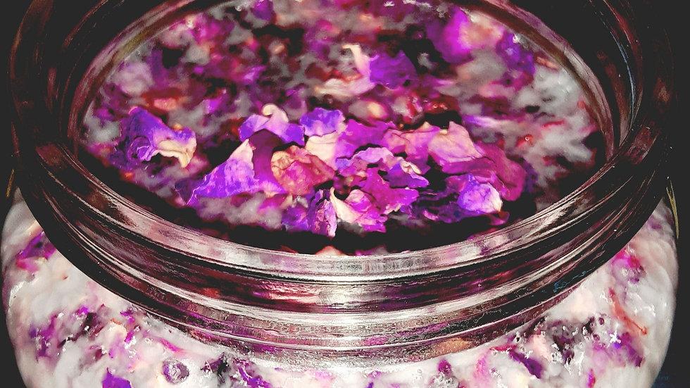 Organic Rose Coconut Oil