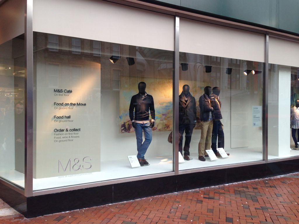 Frame 17 Retail Display Windows
