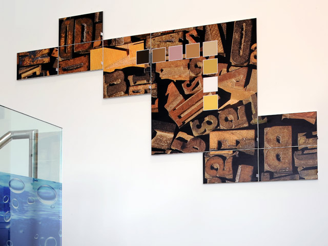 Frame 17 Mosaic Wall Feature