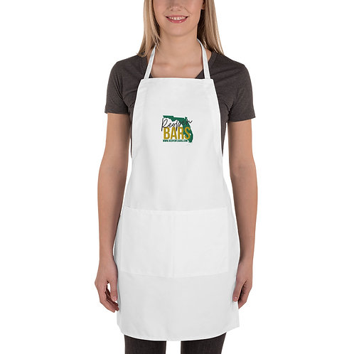 Reopen Embroidered Apron