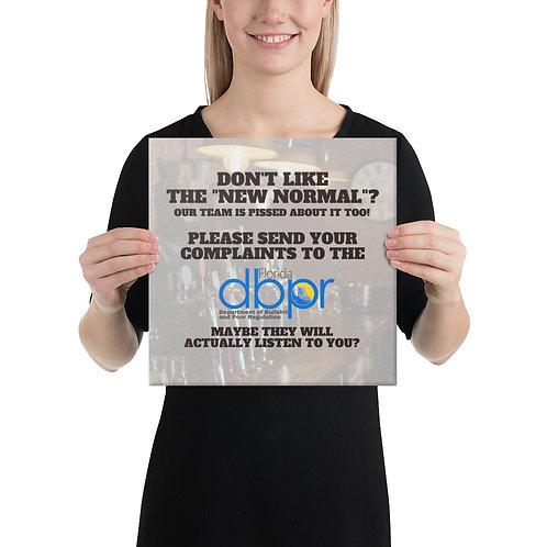 Send Complaints to DBPR Canvas