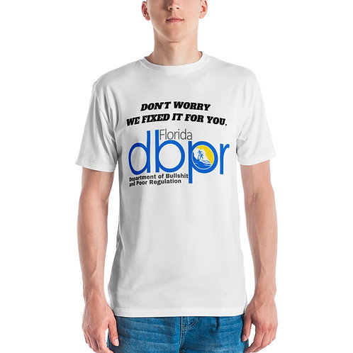 DBPR FIXED IT T-shirt (Unisex)