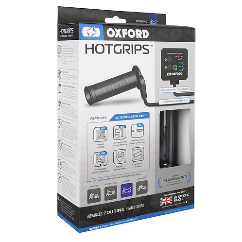 Oxford Hotgrips Advanced Touring UK SPECIFIC