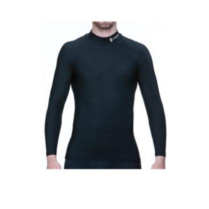PROSKINS Moto Black Compression Baselayer Long Sleeve High Neck Top
