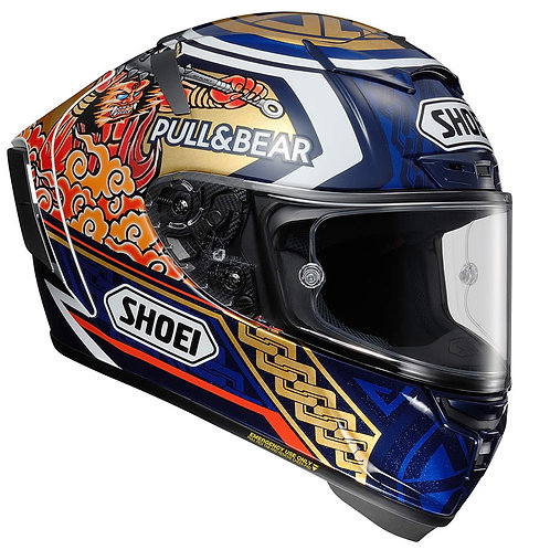 Shoei X-Spirit 3 Marquez 3 Motegi TC-2