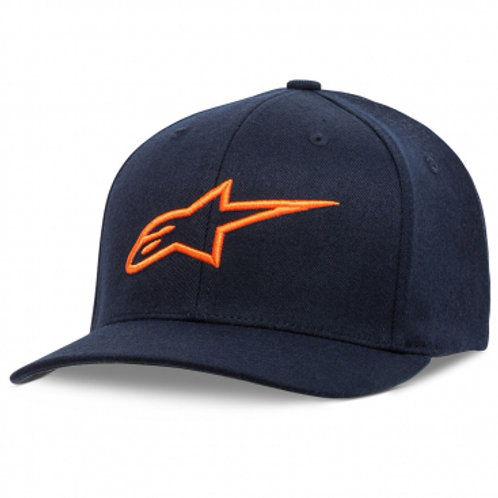 Alpinestars Ageless Curve Hat Navy & Orange