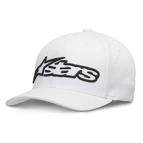 Alpinestars Blaze Flexfit Hat White & Black