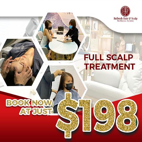 Full Signature Scalp Treatment @ $198