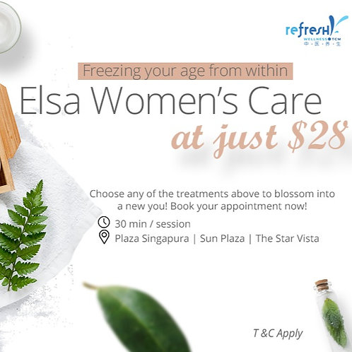Refresh Elsa Women Care Treatment at $28