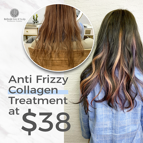 Anti Frizzy Collagen Treatment @ $38