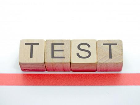 テストや受験について思うこと